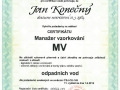 9.Certifikát Manažer vzorkování odpadních vod vydaný ČSJ (1 osoba)