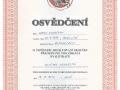 13.Licence jezdce a osvědčení cvičitele jezdectví vydané Českou jezdeckou federací