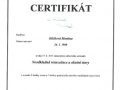3.Certifikát – Neodkladná resuscitace a akutní stavy