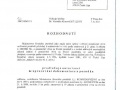 4.Autorizace ke zpracování dokumentace a posudku EIA podle zákona č. 100/2001 Sb., o posuzování vlivů na životní prostředí vydané MŽP ČR str. 1