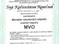 8.Certifikát Manažer vzorkování odpadů vydaný ČSJ (2 osoby)